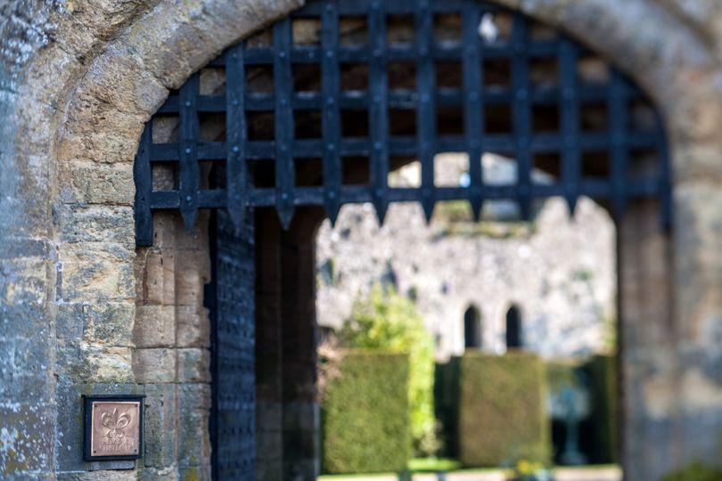 Amberley Castle's Portcullis
