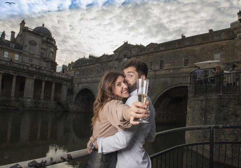 Secret proposal in Bath