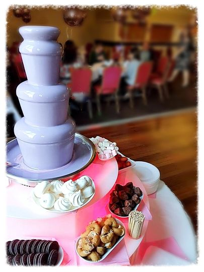 4tier chocolate fountain with