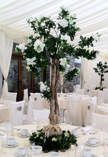 Reception Tree Centrepieces