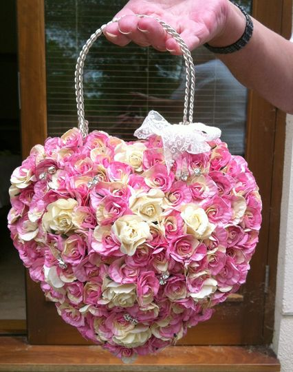 Flower Girl Rose Petal Bags