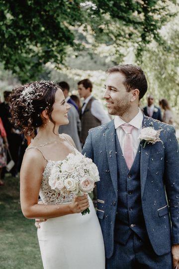 Rebecca Clark Photography - Woodland wedding
