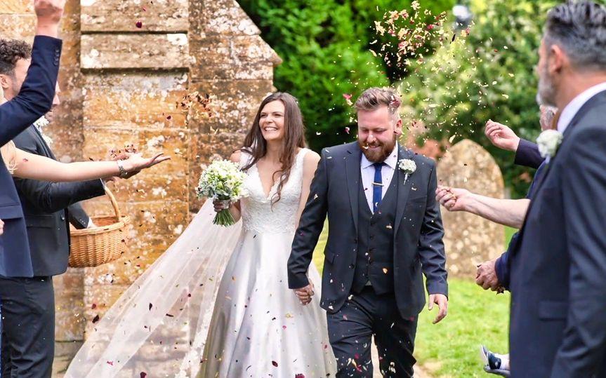 Leaving as newlyweds
