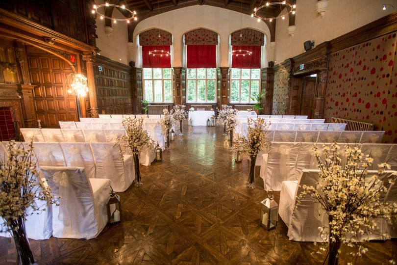 Ceremony in the main house