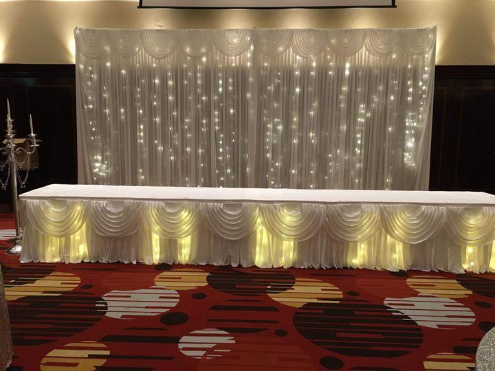 Sparkle backdrop