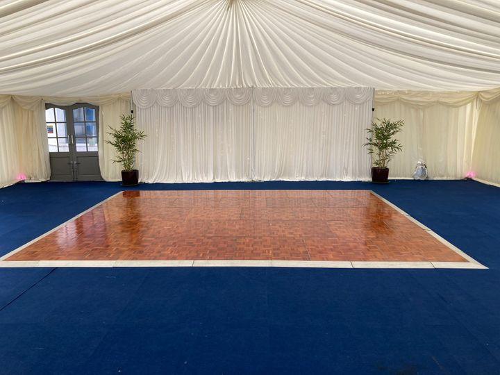 Parquet dance floor