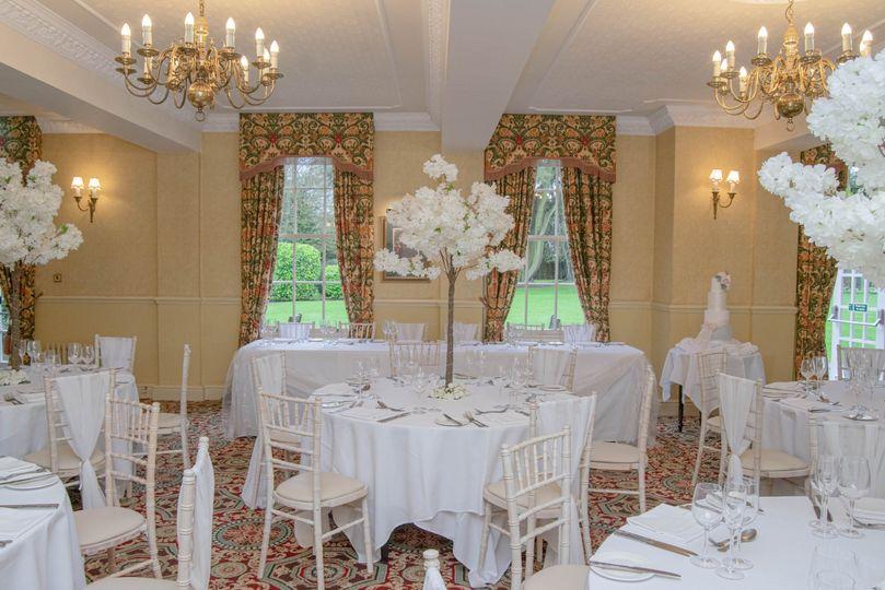 Wedding Breakfast in the Rose room