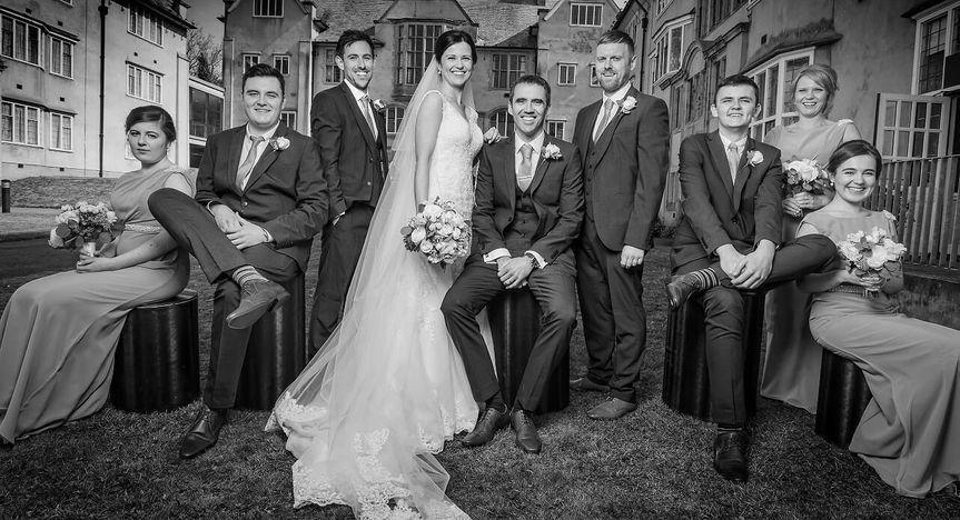 Priodasau Neuadd Hugh Owen Hall Weddings 58