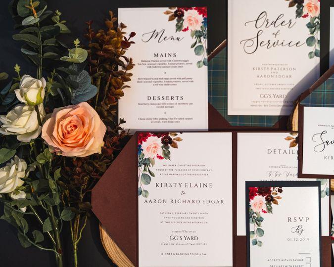 The Tartan Flower Collection