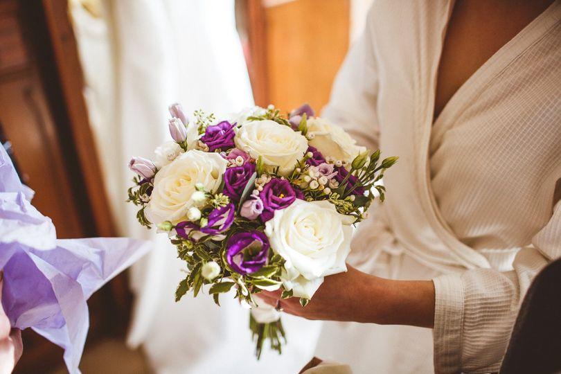 Bouquet delivered