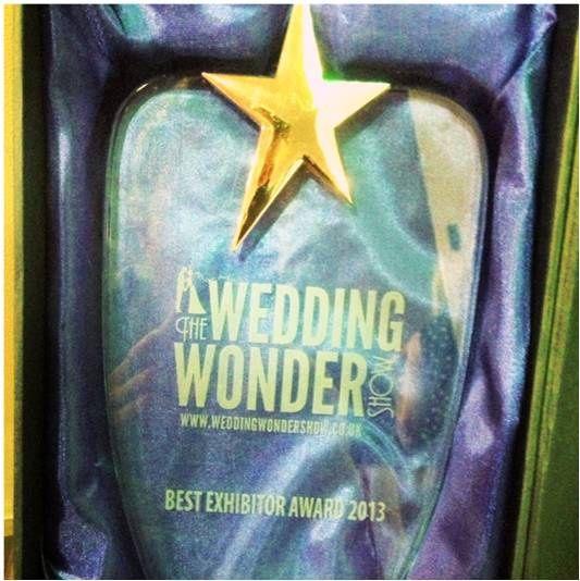 The wedding wonder show award