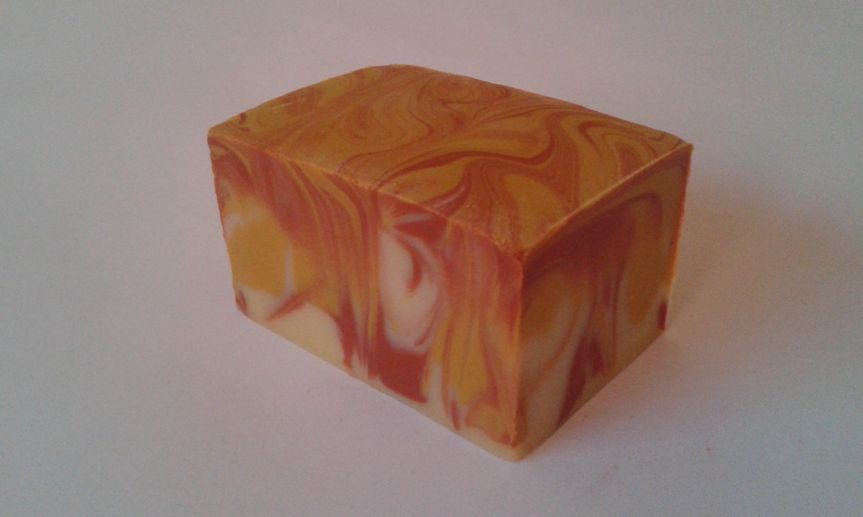 Summer fruits milk soap