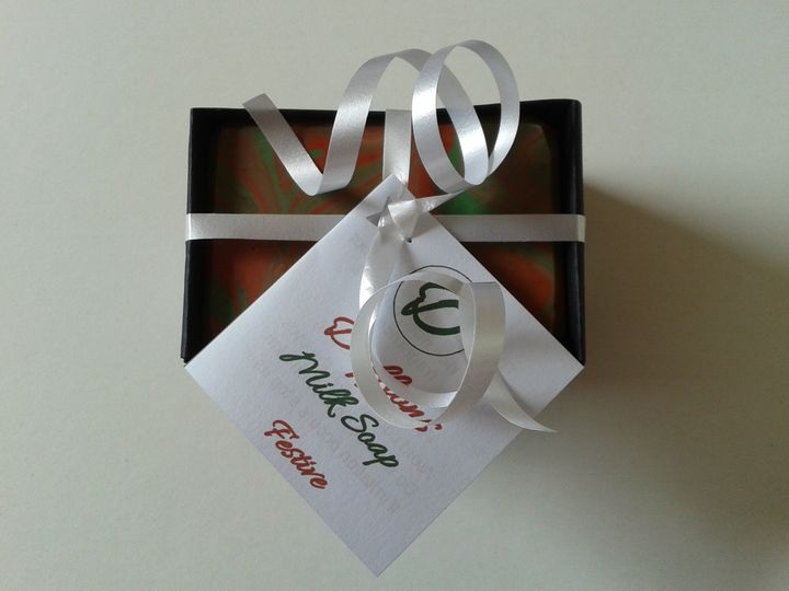 Festive wrapped
