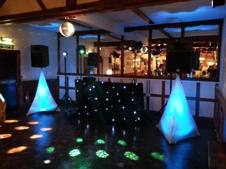 Example disco set up