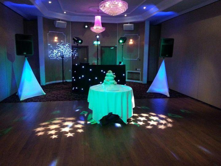Pretty disco set up