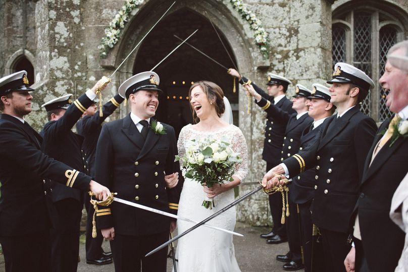 Navy wedding
