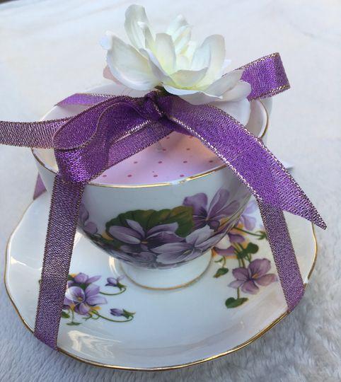 Teacup gift to keep