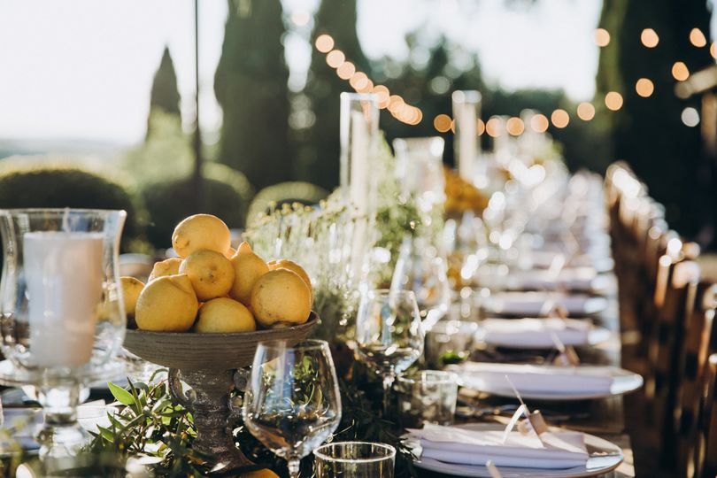 country chic reception dinner 4 278035 161288004638168