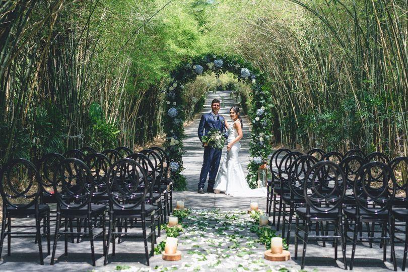 Greenery wedding in Ibiza