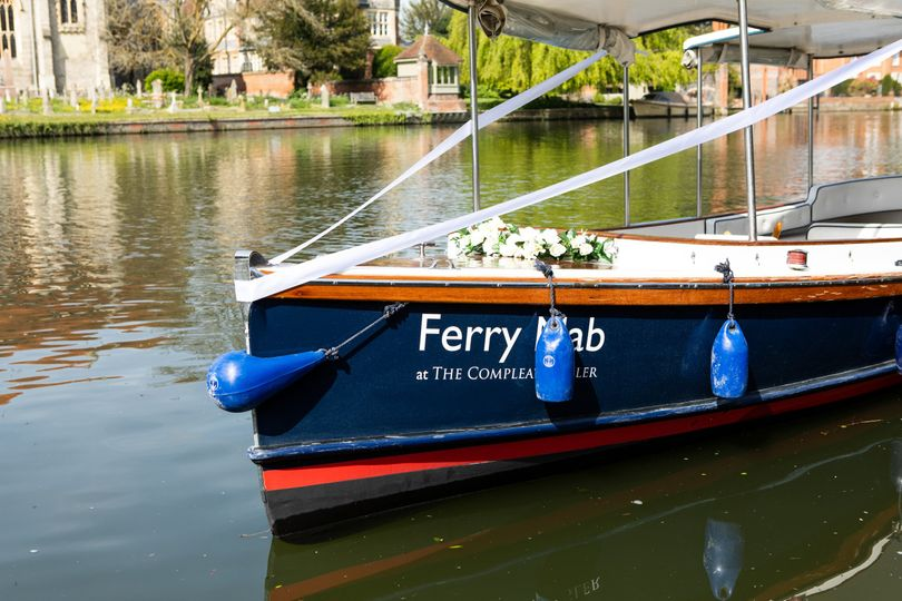 Bridal Boat at the Compleat Angler