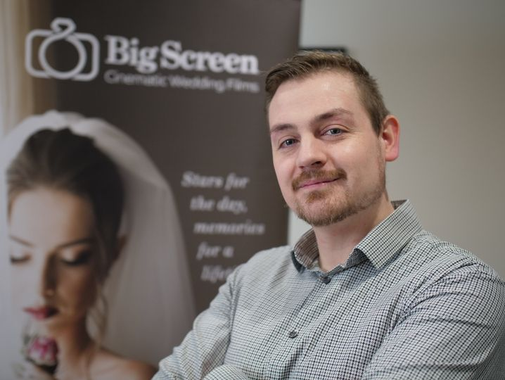 Andy - Big Screen Wedding Films
