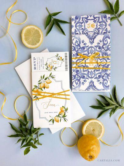 Italy & Lemons Suite