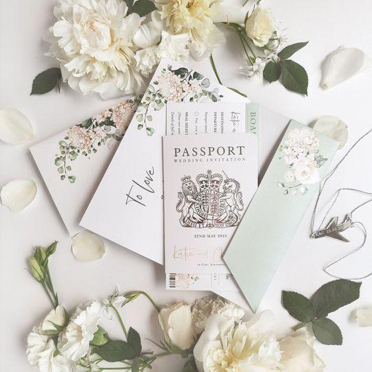 Destination Wedding Passport