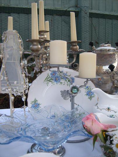 Delicate blue  wedding theme