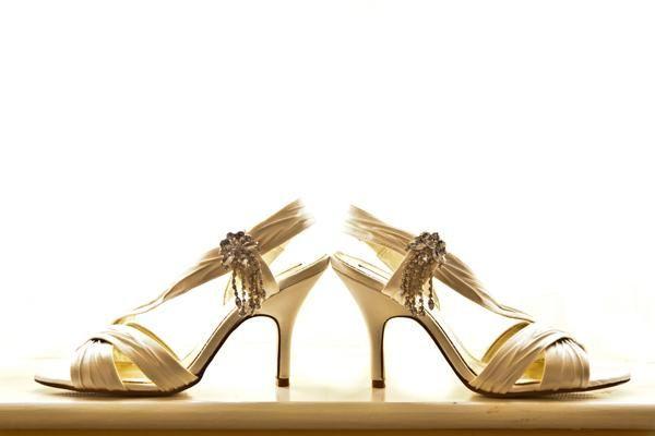 Stunning wedding shoes
