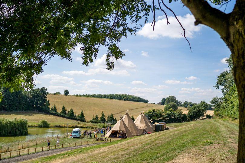 Countryside Tipi Wedding