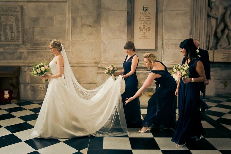 Wedding in St Paul's Cathedral