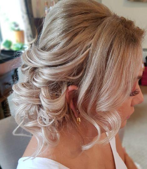 Stephanie Gayle bridal hair