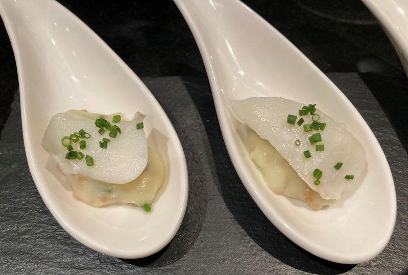 Salt cod, pickle potato