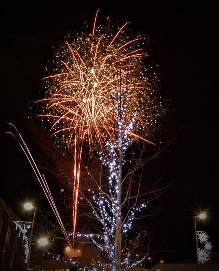 Celebratory sparks
