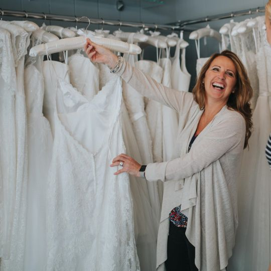 Helping clients find their dream gown