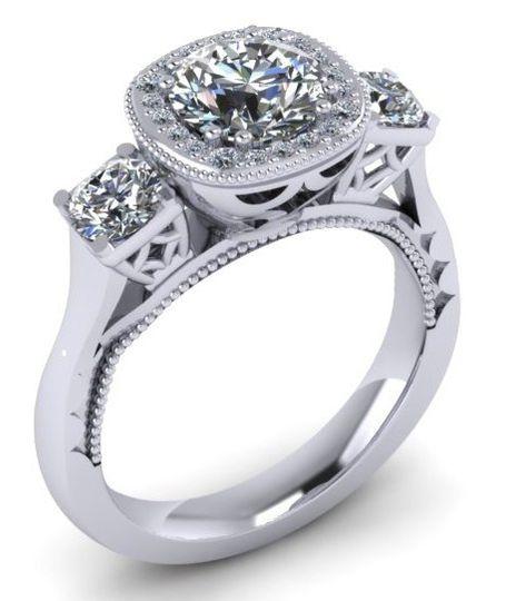 Bespoke engagement rings