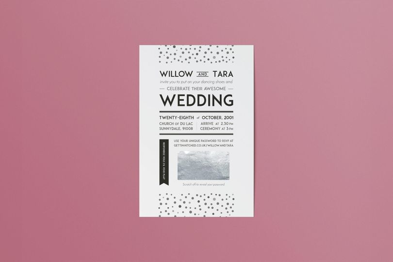 Stationery Gettin' Hitched Rocks 13