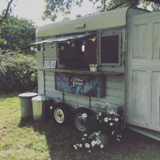 Our mobile kitchen trailer