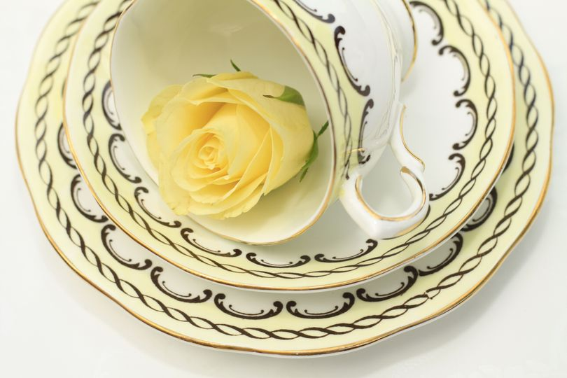 Fine bone china trio