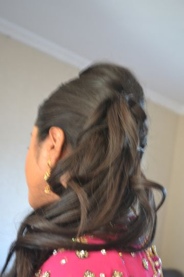 Party Hair Up