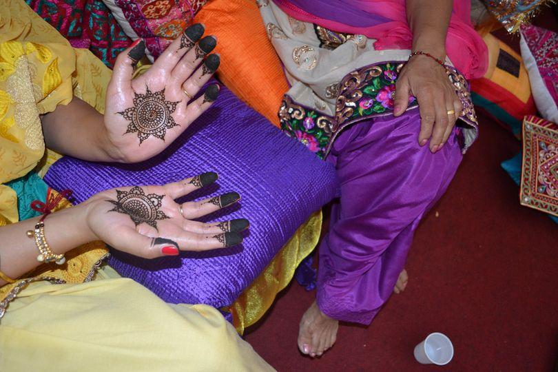 Bridal Mendhi