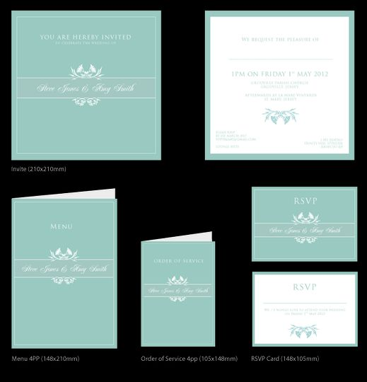 Example Wedding Stationery (2)