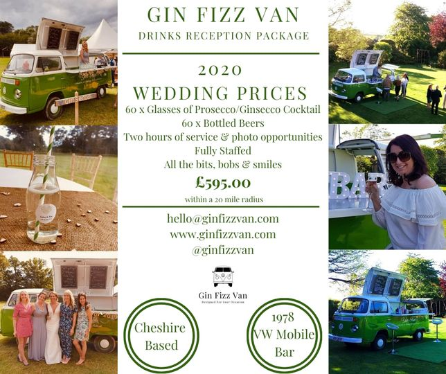 Mobile Bar Services Gin Fizz Van Limited 13
