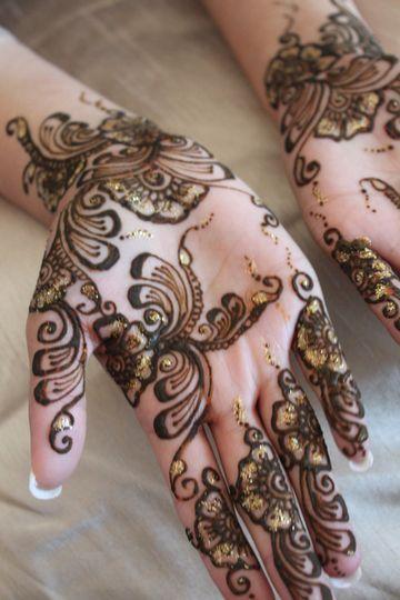 Henna/Mehndi glitter
