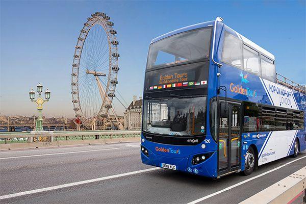 Golden Tours - London Eye