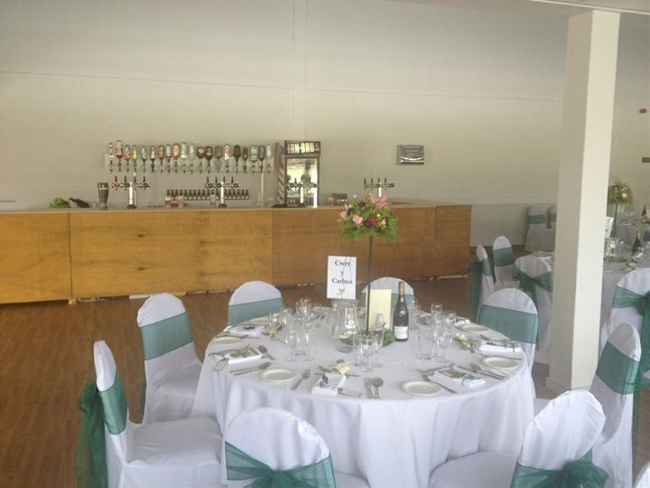 Wedding Bar at the Royal Welsh
