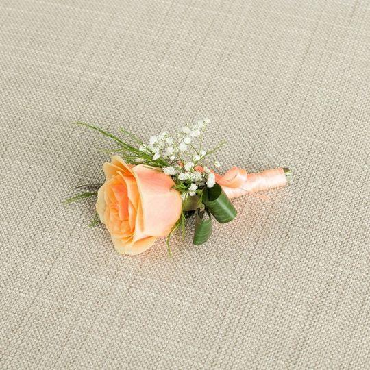 Pink buttonhole