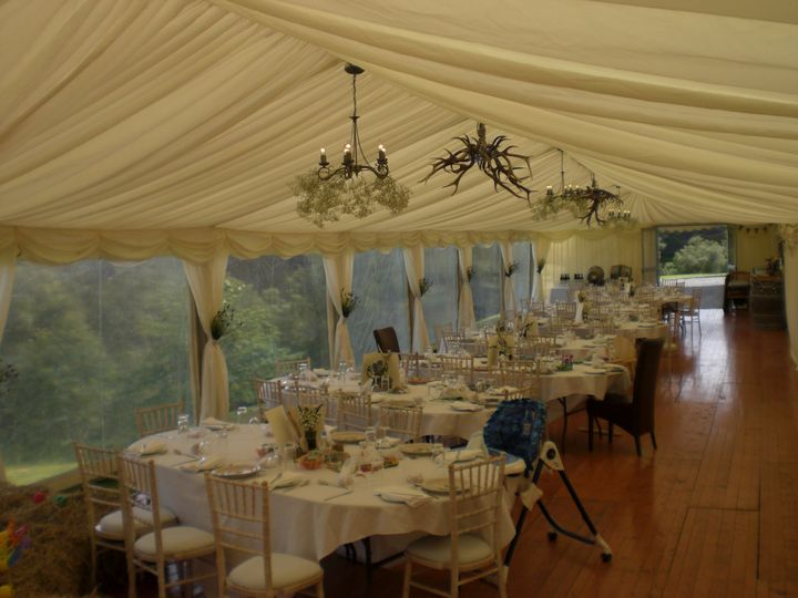 Inside the marquee 2