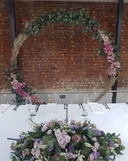 Upscale and rustic decorations