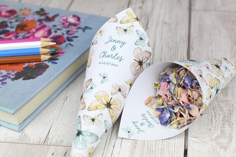 Confetti and Bubbles Shropshire Petals Confetti 54